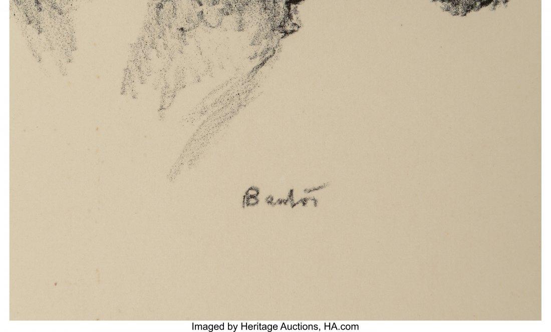 62350: Thomas Hart Benton (American, 1889-1975) Tom Kee - 3