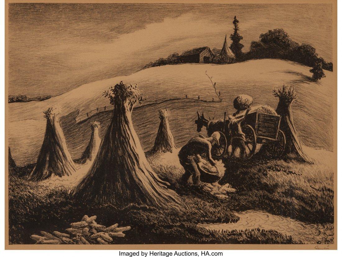62351: Thomas Hart Benton (American, 1889-1975) Loading