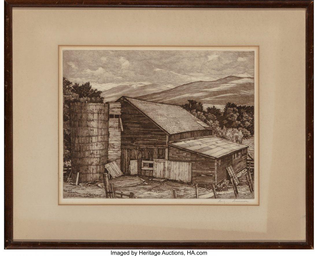 62353: Luigi Lucioni (American, 1900-1988) Vermont Surv - 3