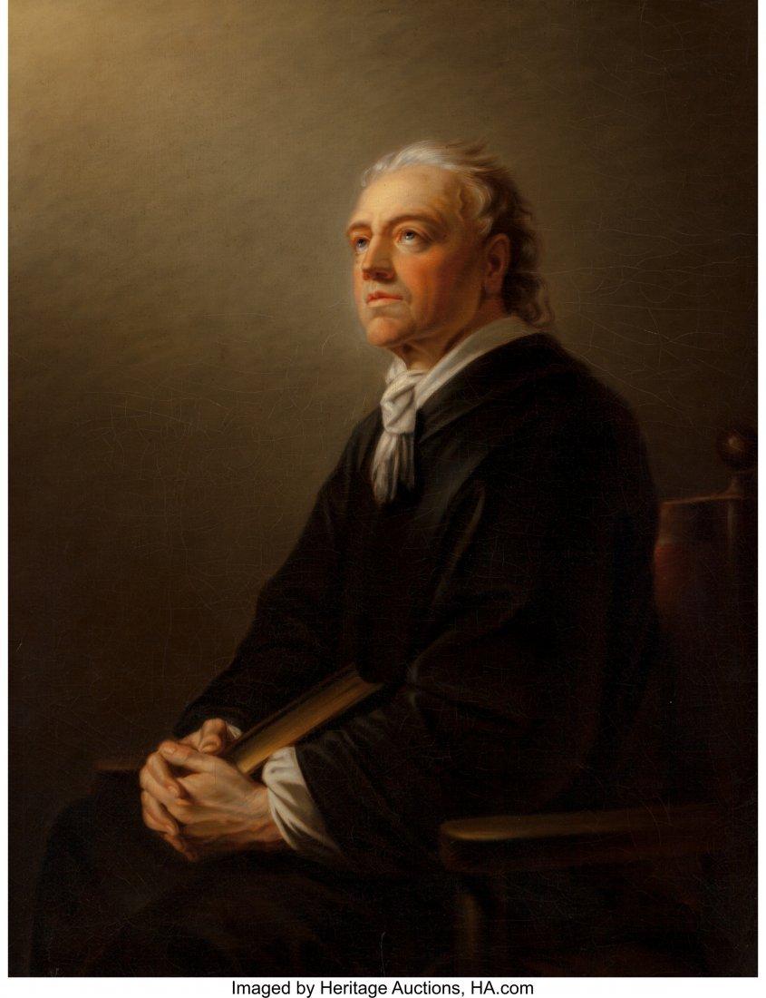 62359: Austrian School (19th Century) Portrait of a Man