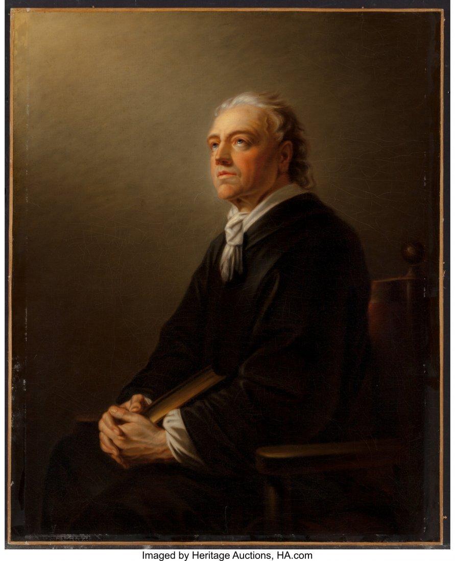 62359: Austrian School (19th Century) Portrait of a Man - 3
