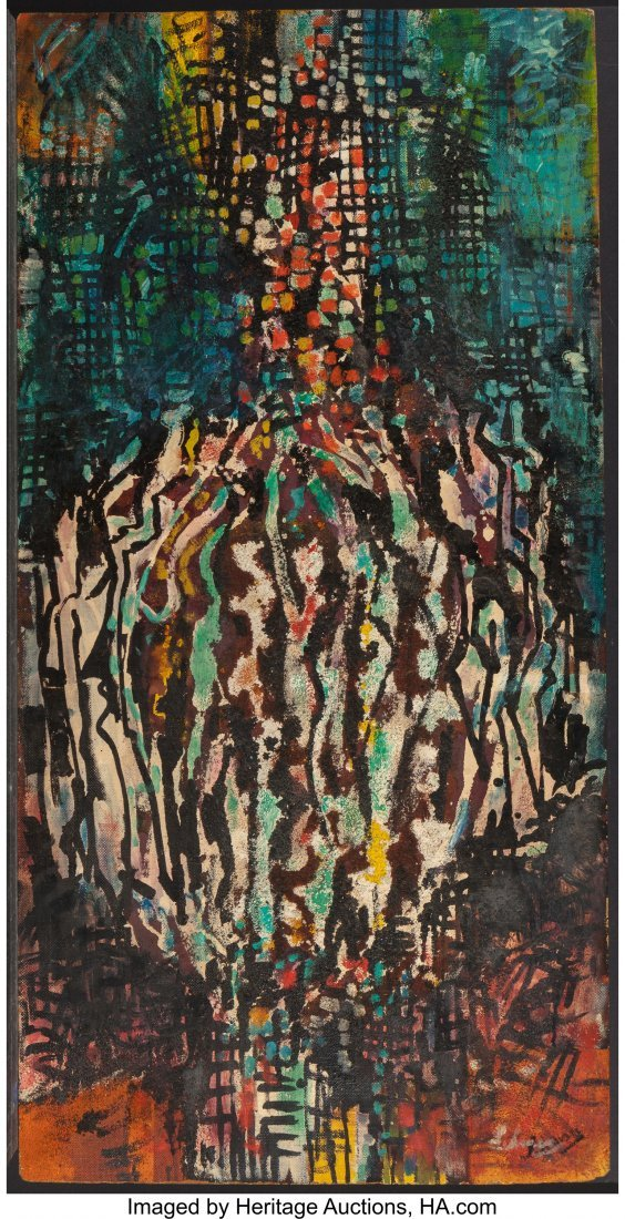 62455: Irving G. Lehman (American, 1900-1982) Fluoresce - 4