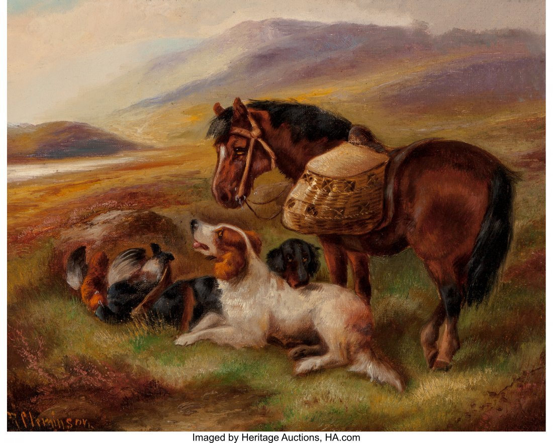 62369: Robert Cleminson (British, 1835-1898) Animals in