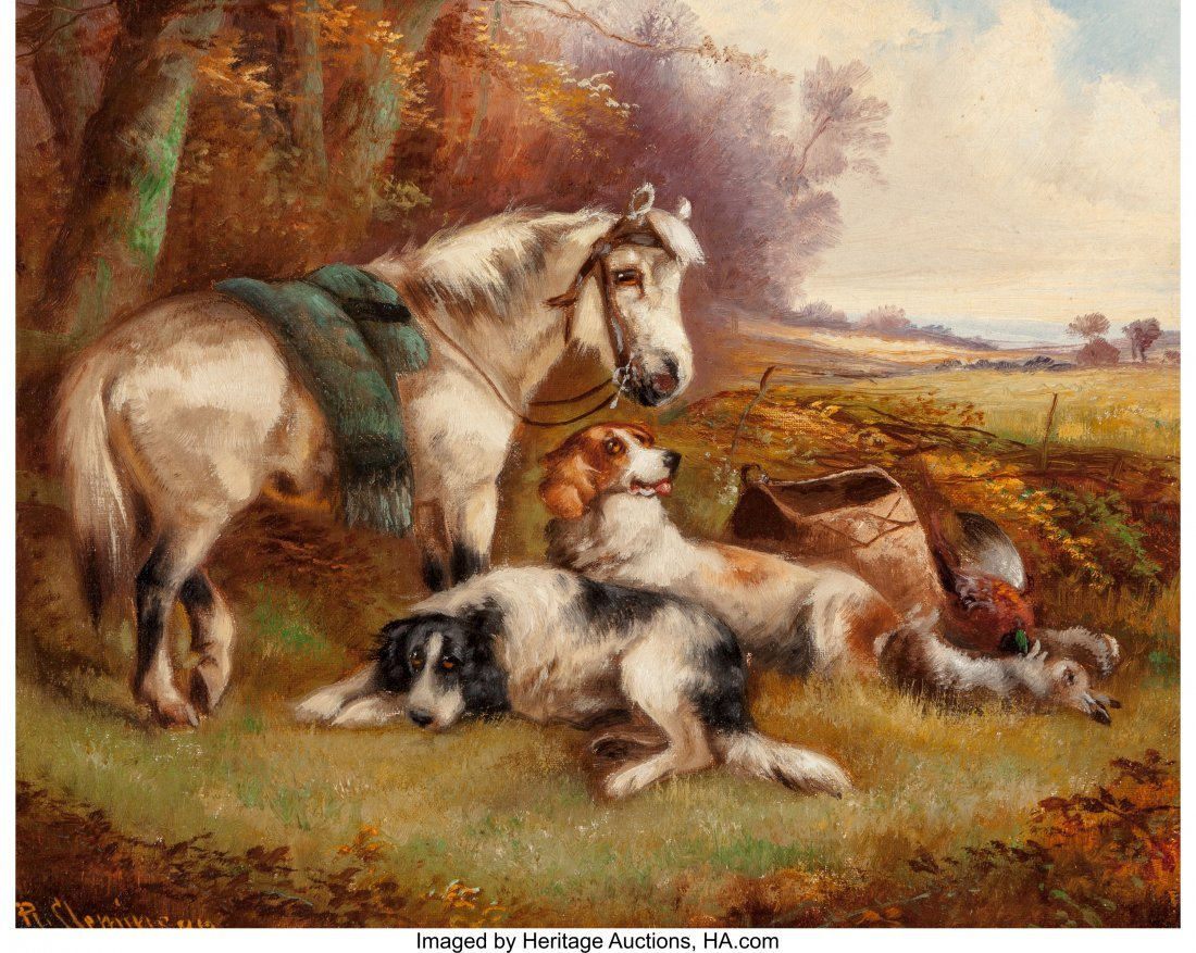 62369: Robert Cleminson (British, 1835-1898) Animals in - 6