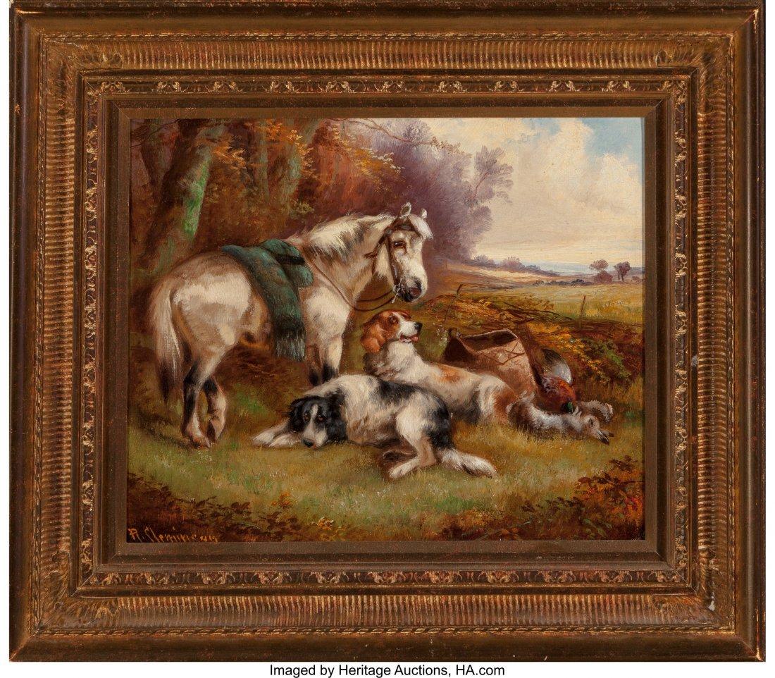 62369: Robert Cleminson (British, 1835-1898) Animals in - 7