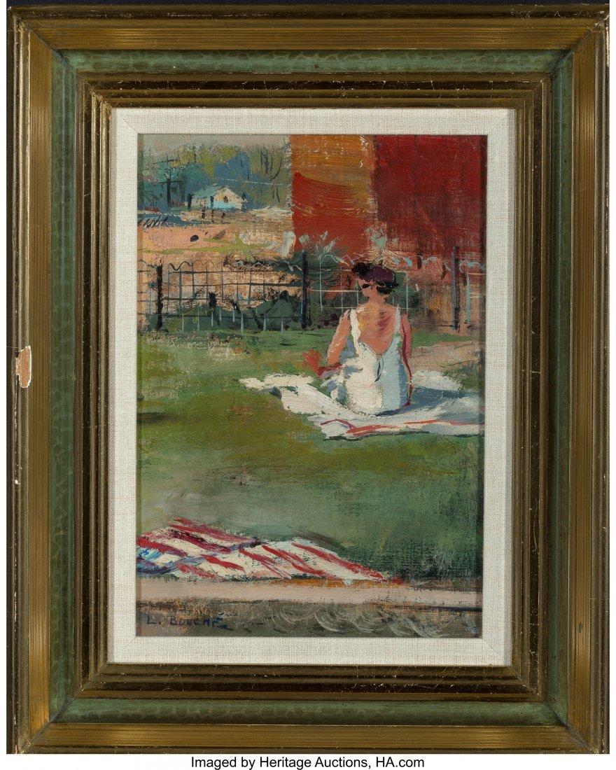 62378: Louis George Bouché (American, 1896-1969) Woman - 2