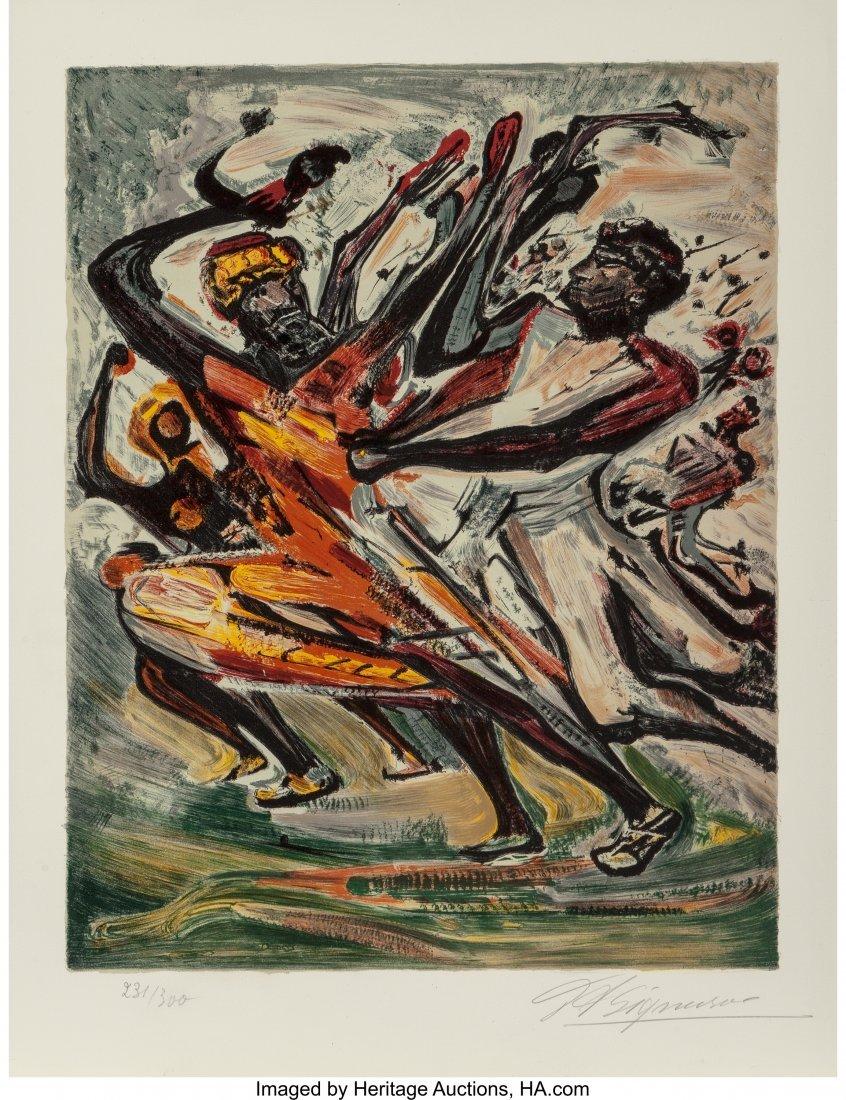 62477: David Alfaro Siqueiros (Mexican, 1896-1974) Indi