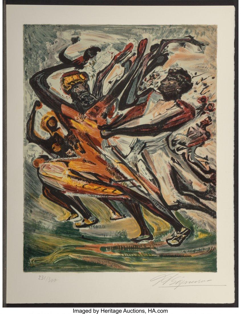 62477: David Alfaro Siqueiros (Mexican, 1896-1974) Indi - 3
