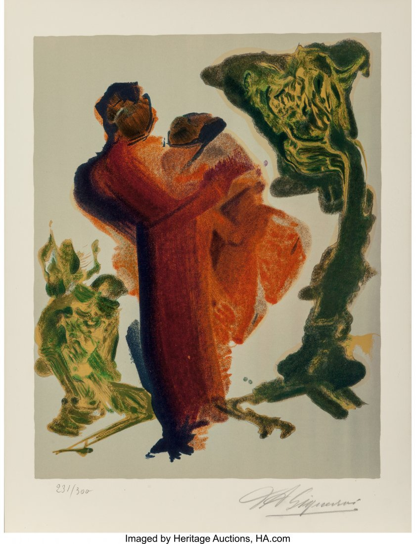 62478: David Alfaro Siqueiros (Mexican, 1896-1974) Unti