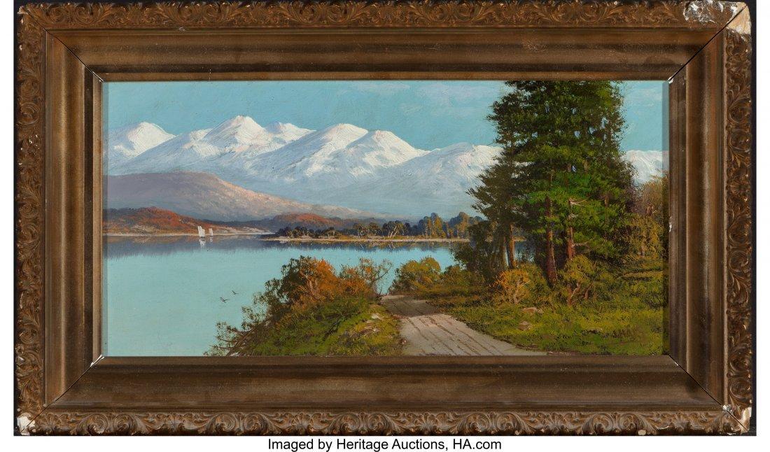 62394: John Englehart (American, 1867-1915) On Donner L - 2