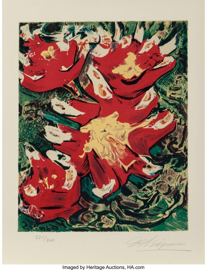 62481: David Alfaro Siqueiros (Mexican, 1896-1974) Unti