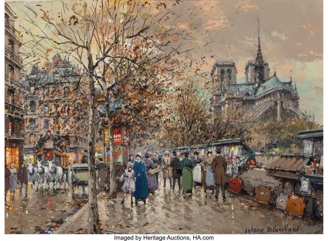 69001: Antoine Blanchard (French, 1910-1988) Paris, Les