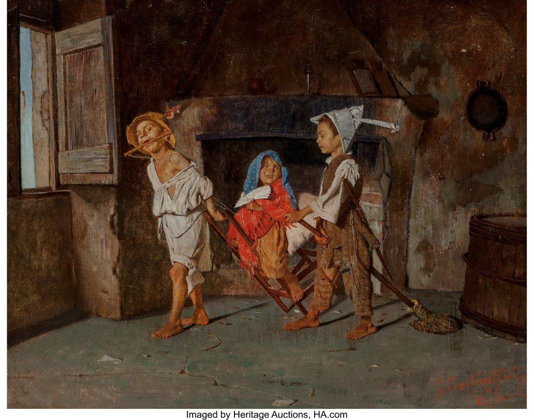 69039: Giuseppe Costantini (Italian, 1843-1893) Neapoli