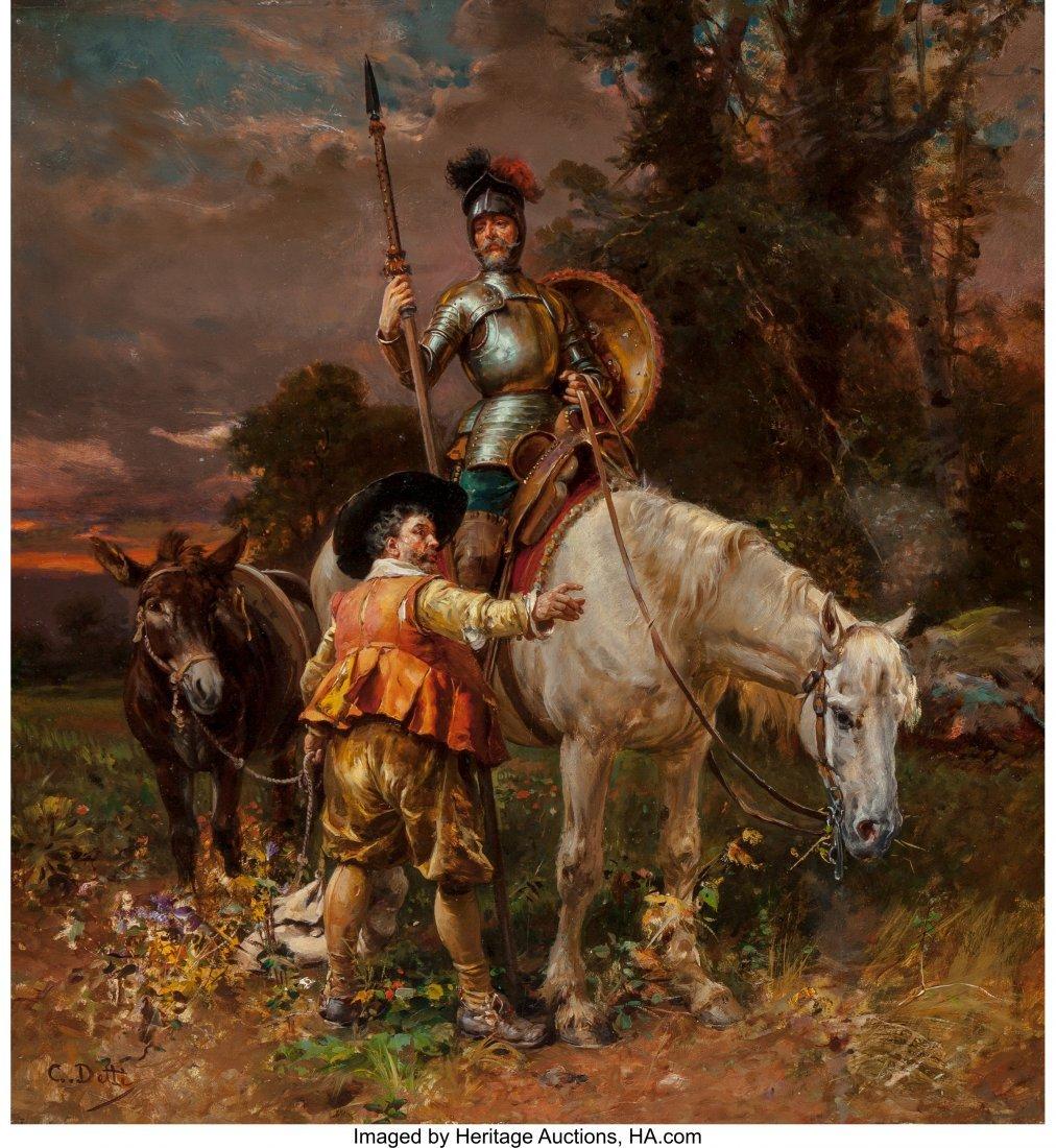 69040: Cesare Auguste Detti (Italian, 1847-1914) Don Qu