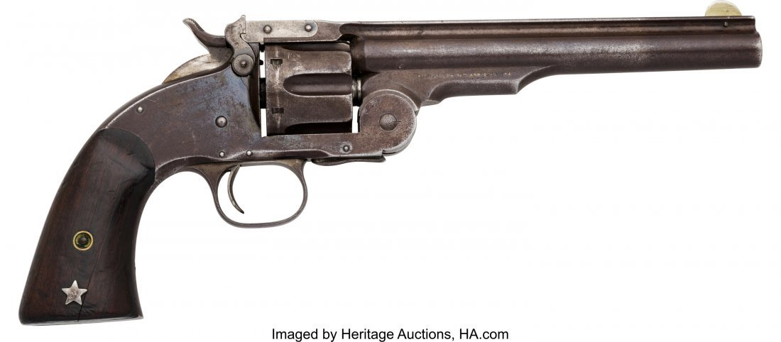 40093: Smith & Wesson First Model Schofield Single Acti