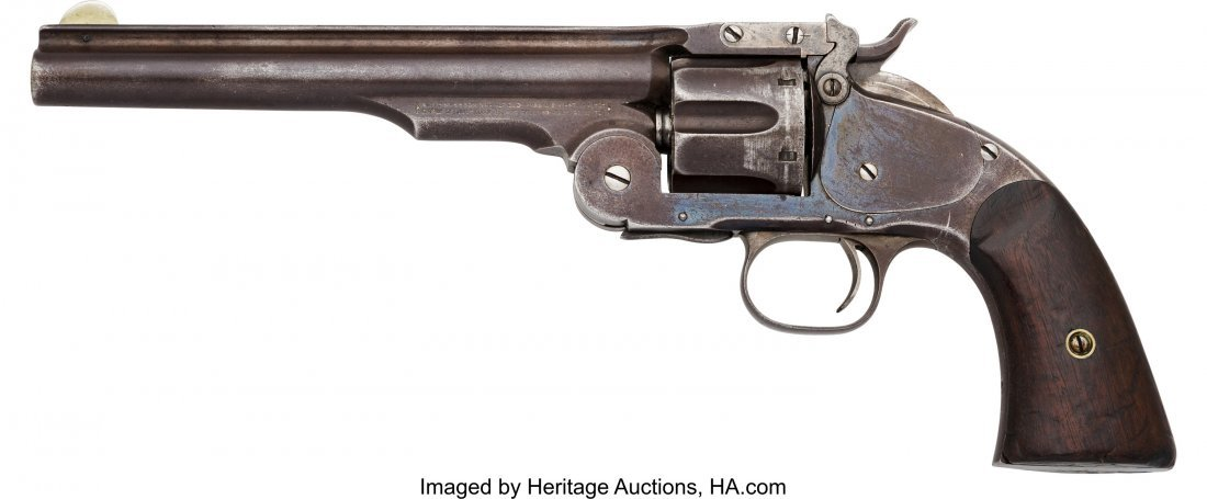 40093: Smith & Wesson First Model Schofield Single Acti - 2