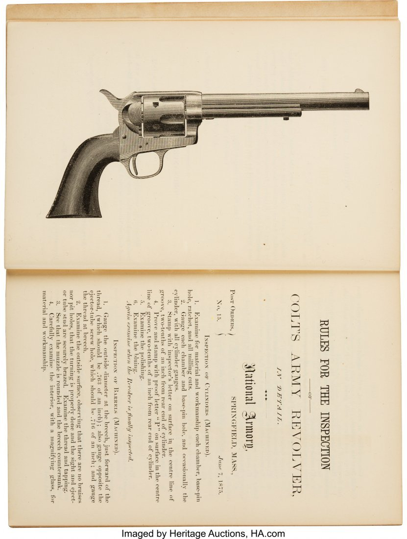 40284: [Gatling Guns]. Capt. J. P. Farley. Rules for th - 3