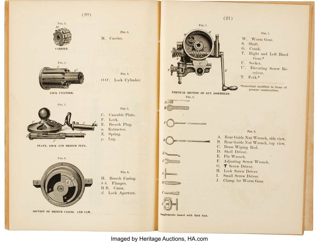 40284: [Gatling Guns]. Capt. J. P. Farley. Rules for th - 6