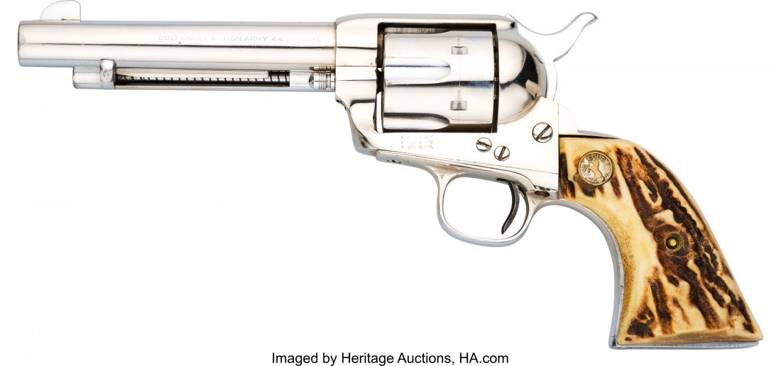 40050: Colt Single Action Army Revolver.  Serial no. 98 - 2