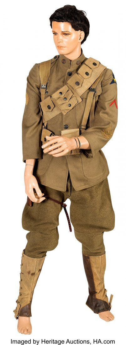 40306: Complete U.S. WWI-Era Cavalry Enlisted Man's Uni