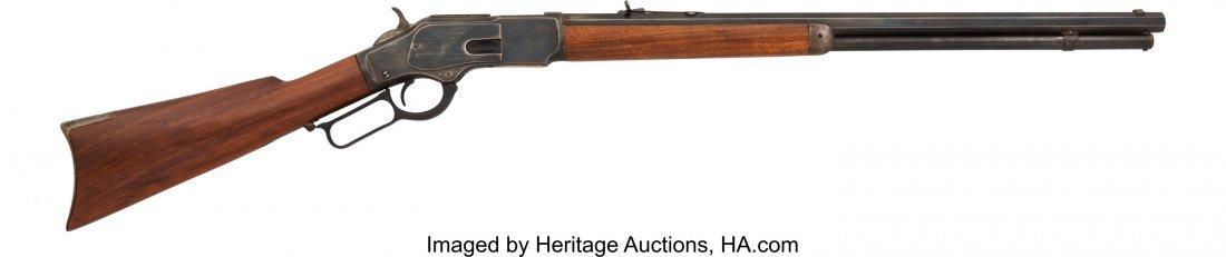 40311: Winchester Model 1873 Lever Action Rifle.  NVSN,