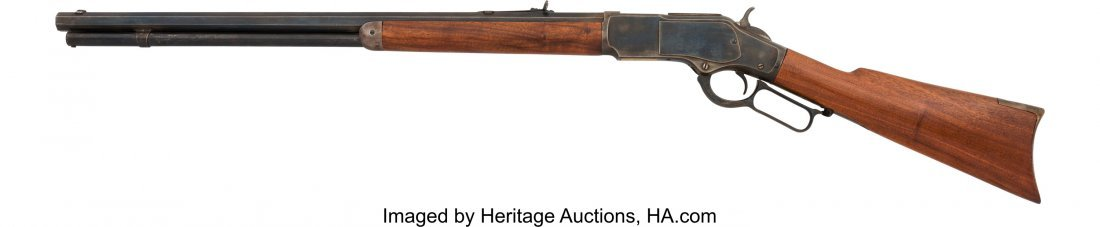 40311: Winchester Model 1873 Lever Action Rifle.  NVSN, - 2