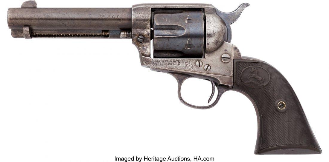 40056: Colt Single Action Army Revolver.  Serial no. 25 - 2