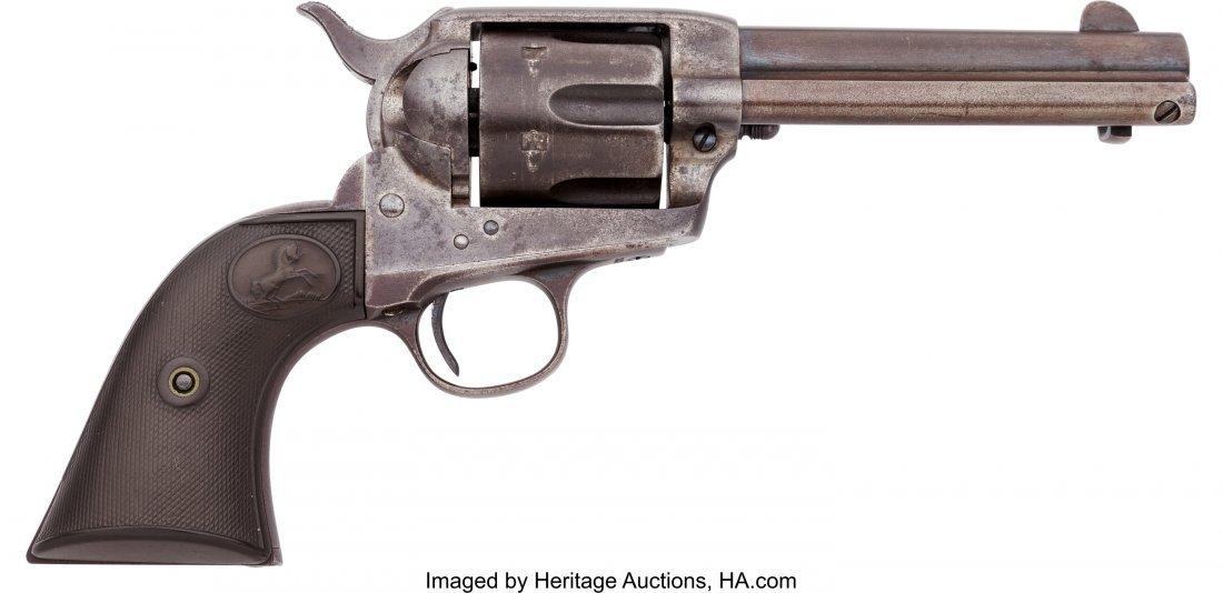 40058: Colt Single Action Army Revolver.  Serial no. 26