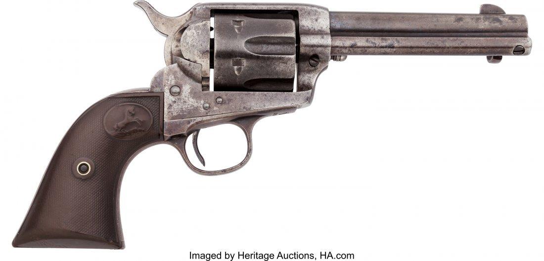40059: Colt Single Action Army Revolver.  Serial no. 26