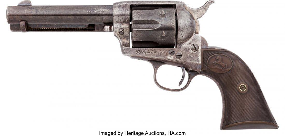 40059: Colt Single Action Army Revolver.  Serial no. 26 - 2