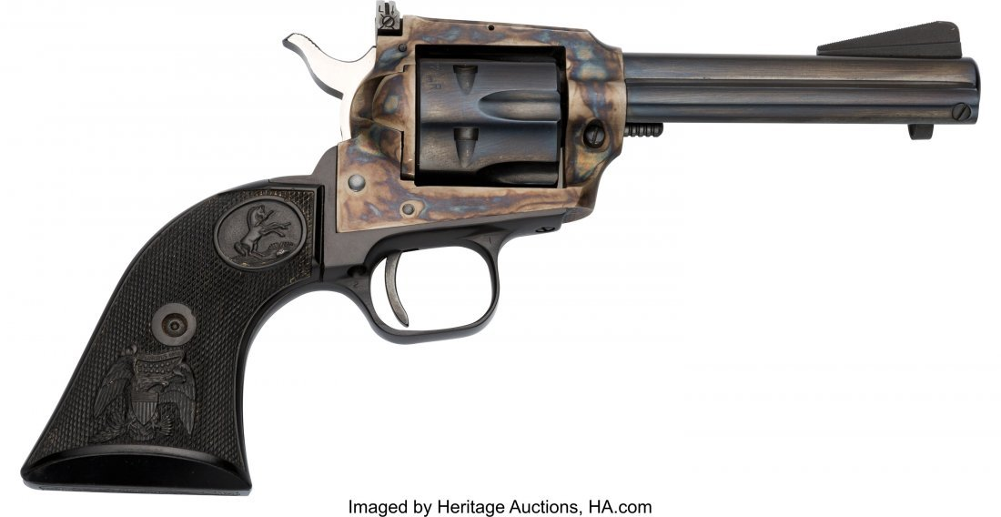 40069: Colt New Frontier Single Action Revolver.  Seria