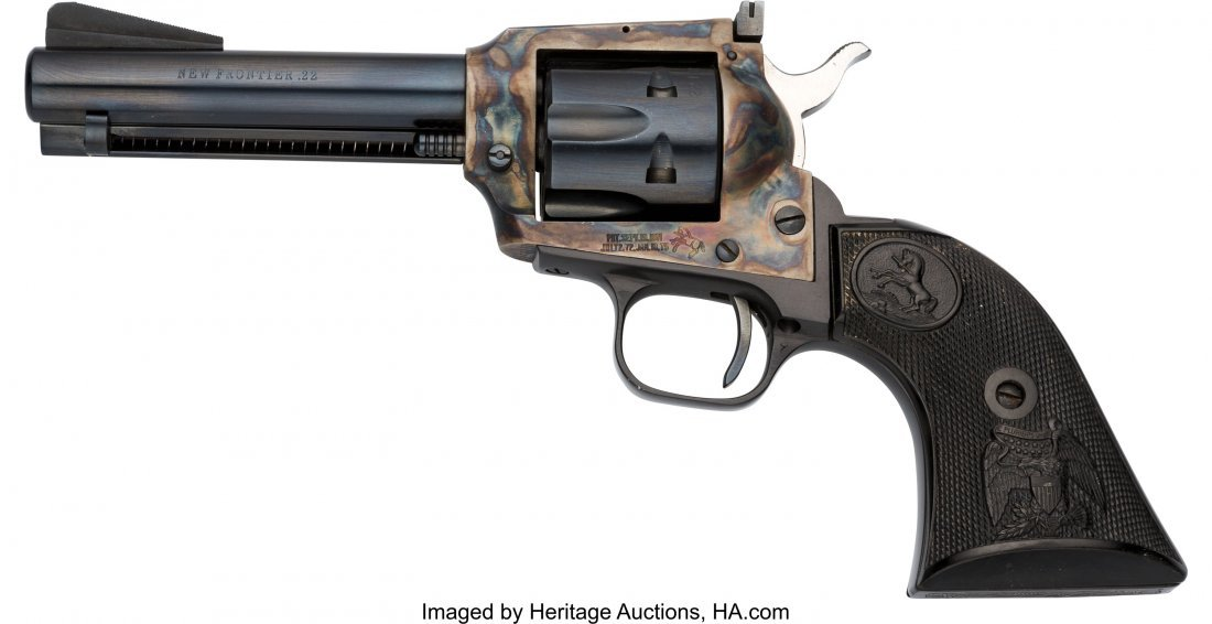 40069: Colt New Frontier Single Action Revolver.  Seria - 2