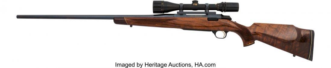 40351: Engraved Browning Gold Medallion Model Bolt Acti - 2