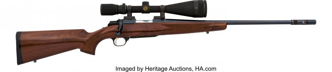 40352: Engraved Browning Medallion Model Bolt Action Ri
