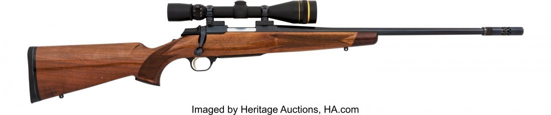 40353: Engraved Browning Medallion Model Bolt Action Ri