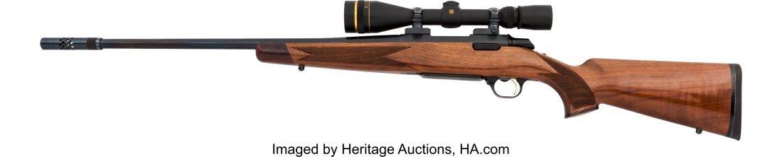40353: Engraved Browning Medallion Model Bolt Action Ri - 2
