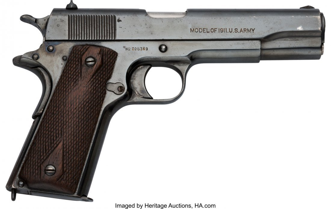 40361: Colt Model 1911 U.S. Army Semi-Automatic Pistol.