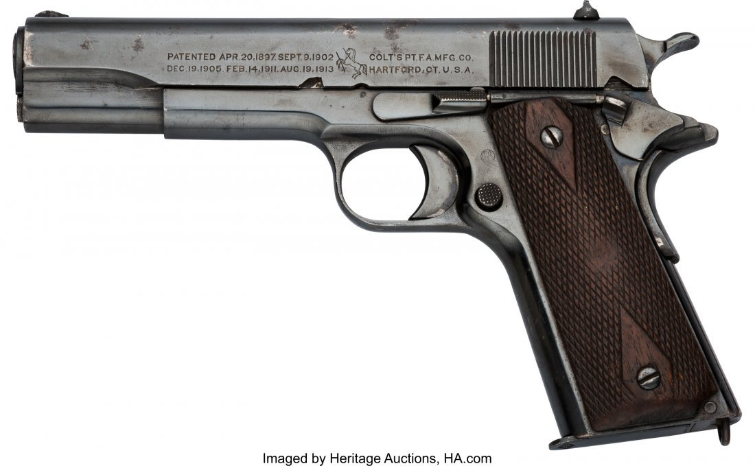 40361: Colt Model 1911 U.S. Army Semi-Automatic Pistol. - 2