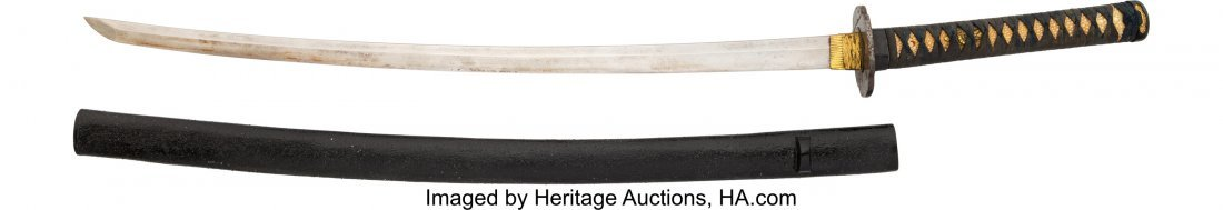 40269: Japanese Katana. 26-inch curved blade, 36-inches - 2