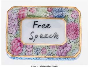 12004: Ai Weiwei (b. 1957) Free Speech Pendant, 2014 Do