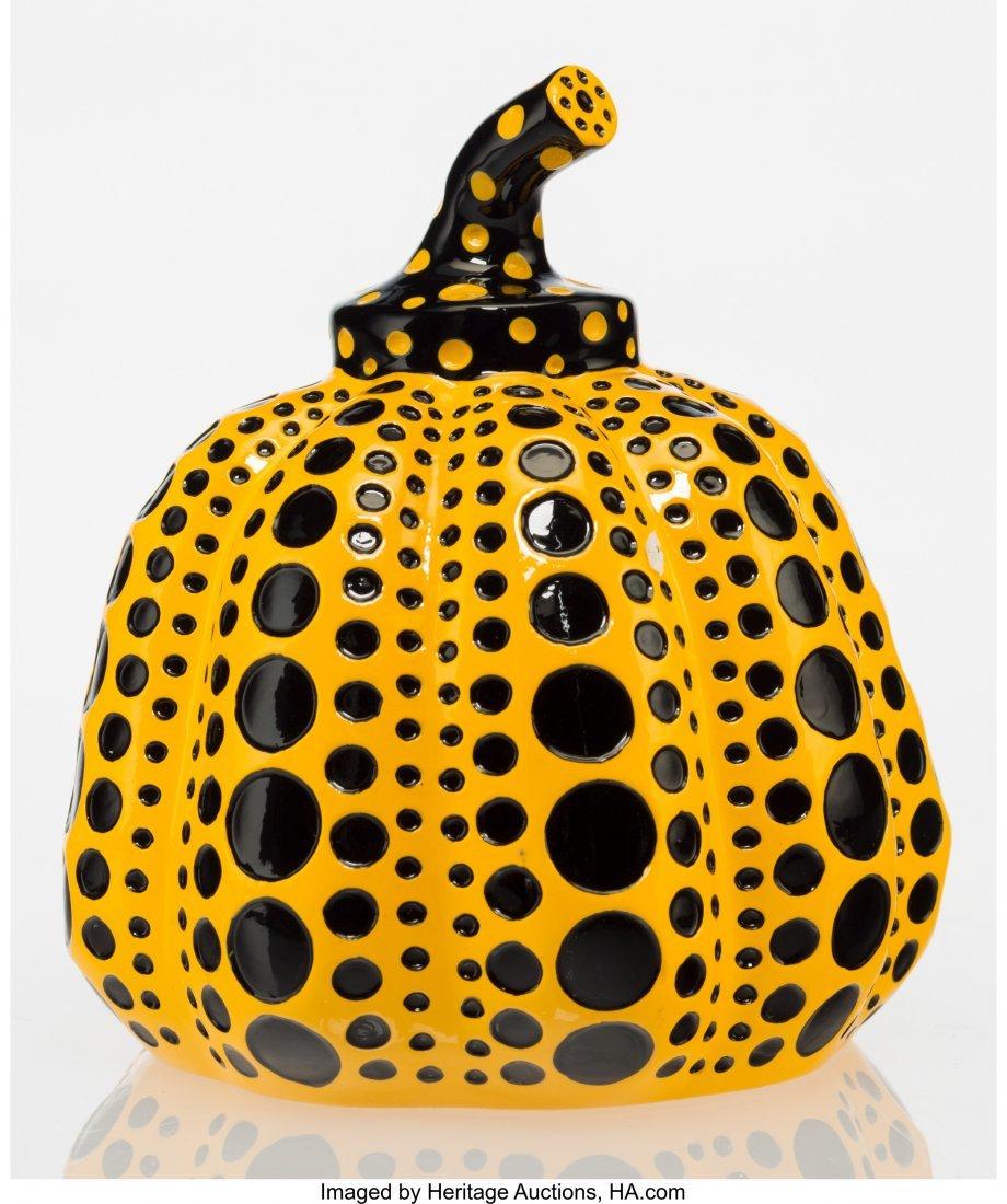 12104: Yayoi Kusama (b. 1929) Pumpkin (Yellow), 2013 Pa