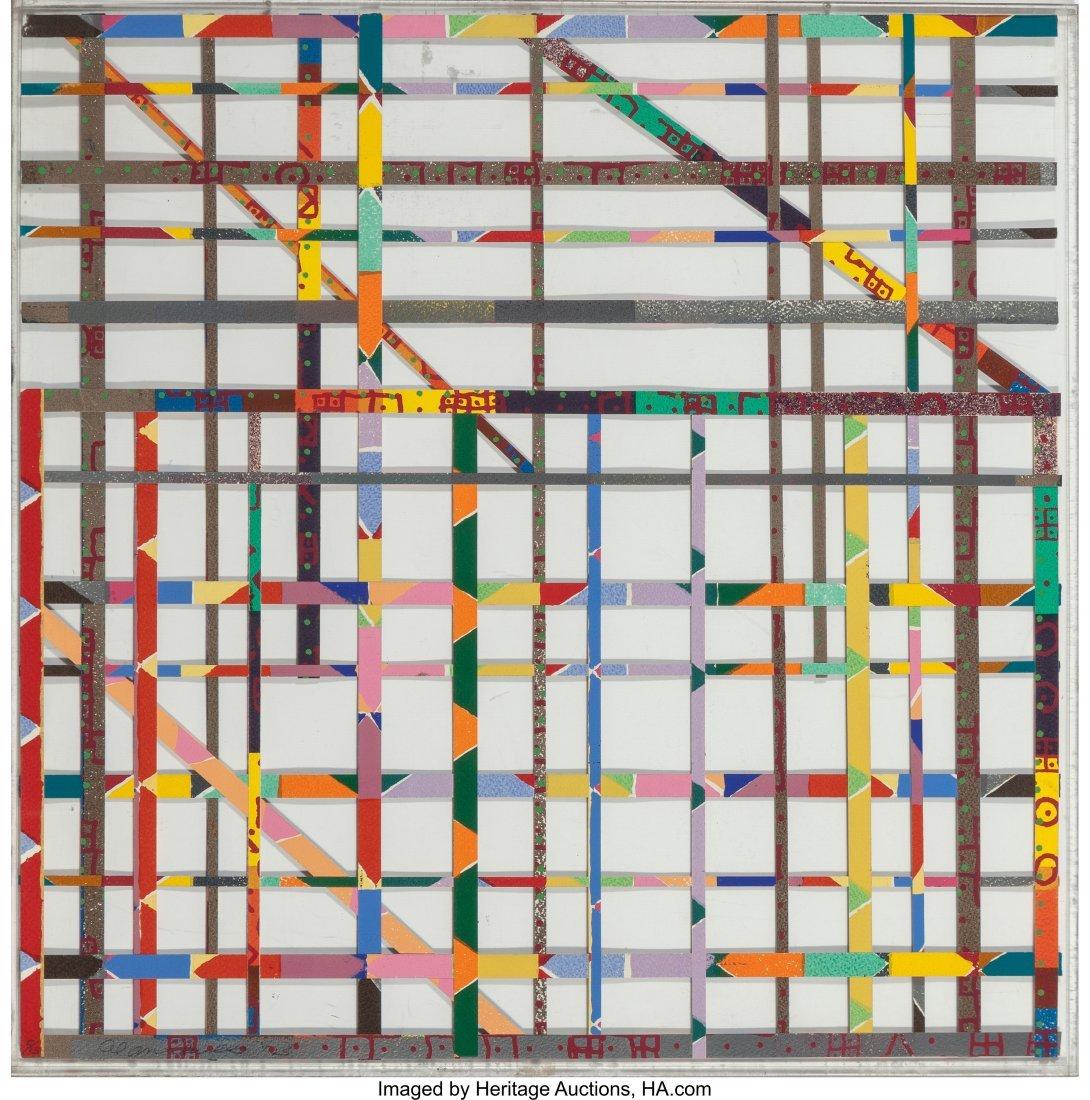 12150: Alan Shields (1944-2005) Detroit, 1973 Silkscree