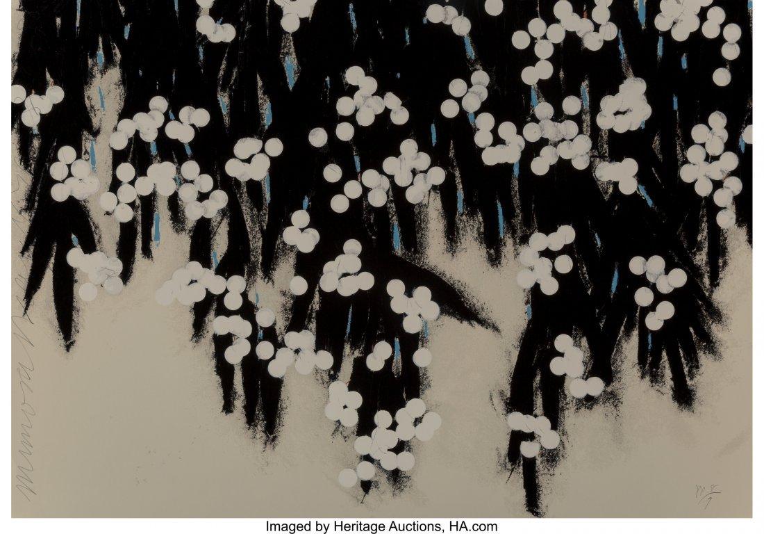 12160: Donald Sultan (b. 1951) Mimosas, 2006 Serigraph