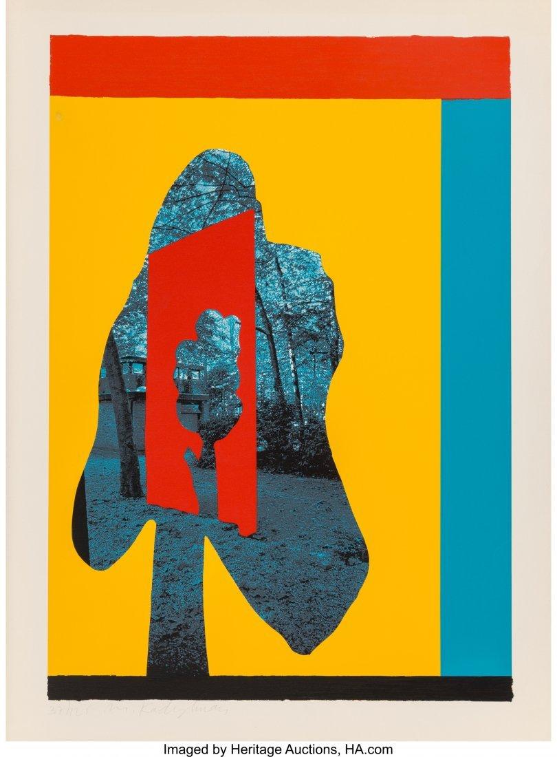 11081: Menashe Kadishman (1932-2015) Untitled - Tree in