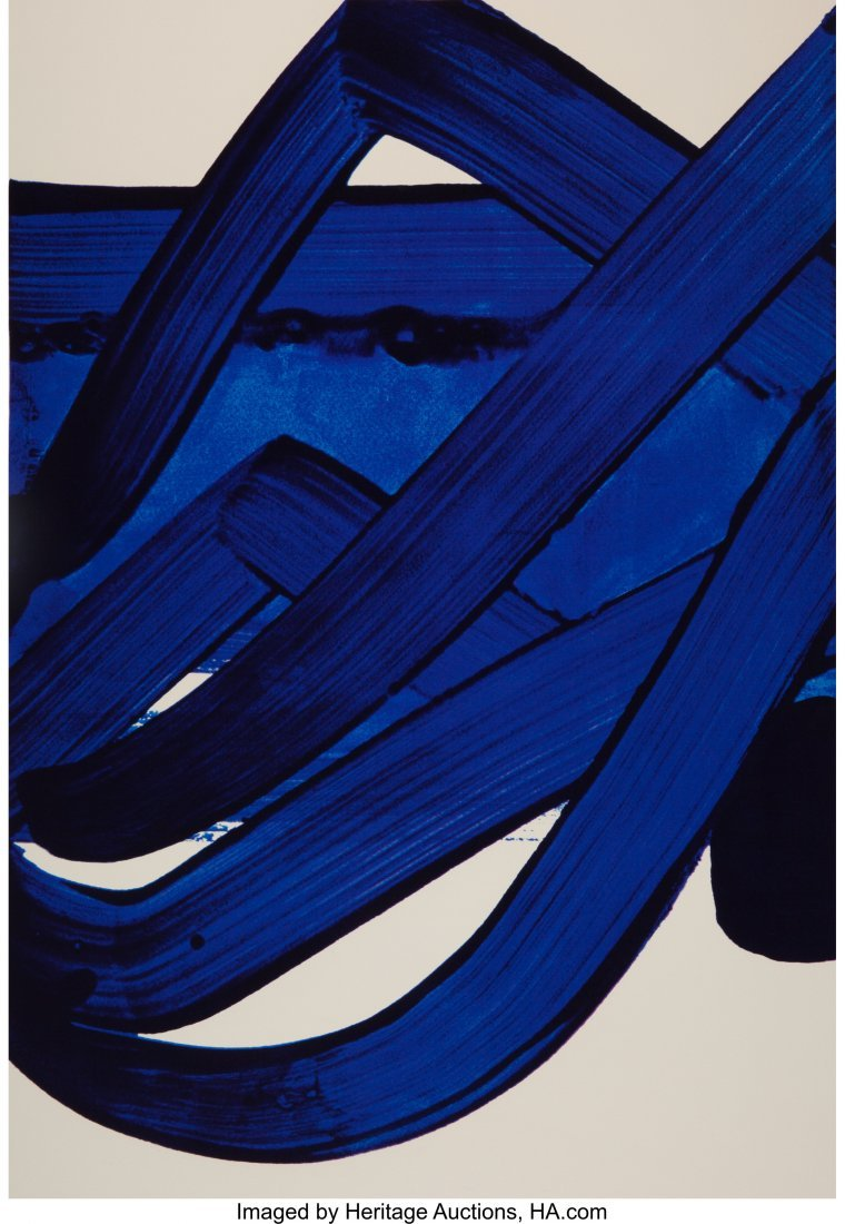 11126: Pierre Soulages (b. 1919) Composition, from Offi