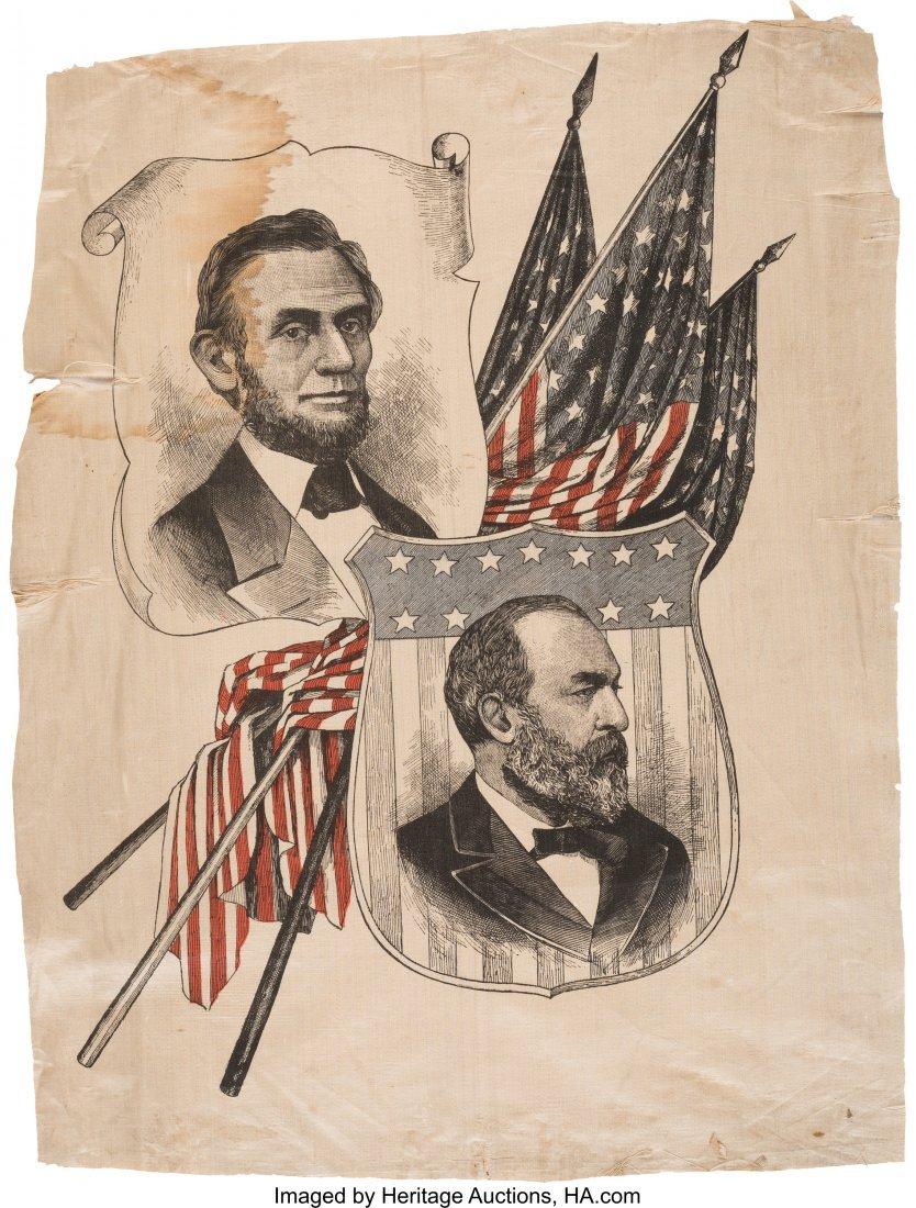 43192: Abraham Lincoln and James A. Garfield: Multicolo