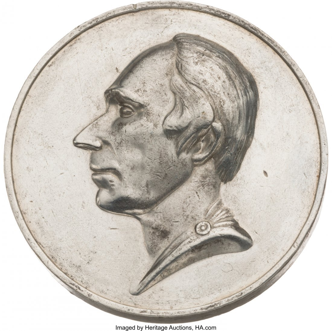 "43097: Henry Clay: High-Relief ""People's Choice"" Factor"