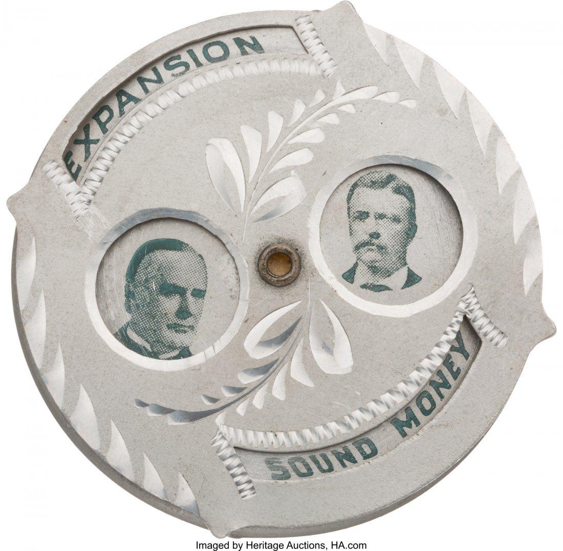 43384: Bryan & Stevenson and McKinley & Roosevelt: Doub