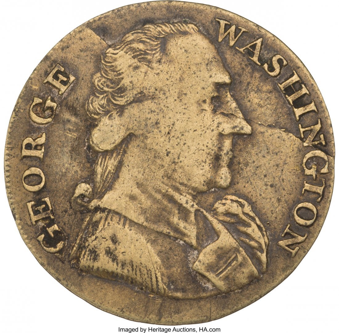 "43004: George Washington: Large Size ""Success"" Token. G"