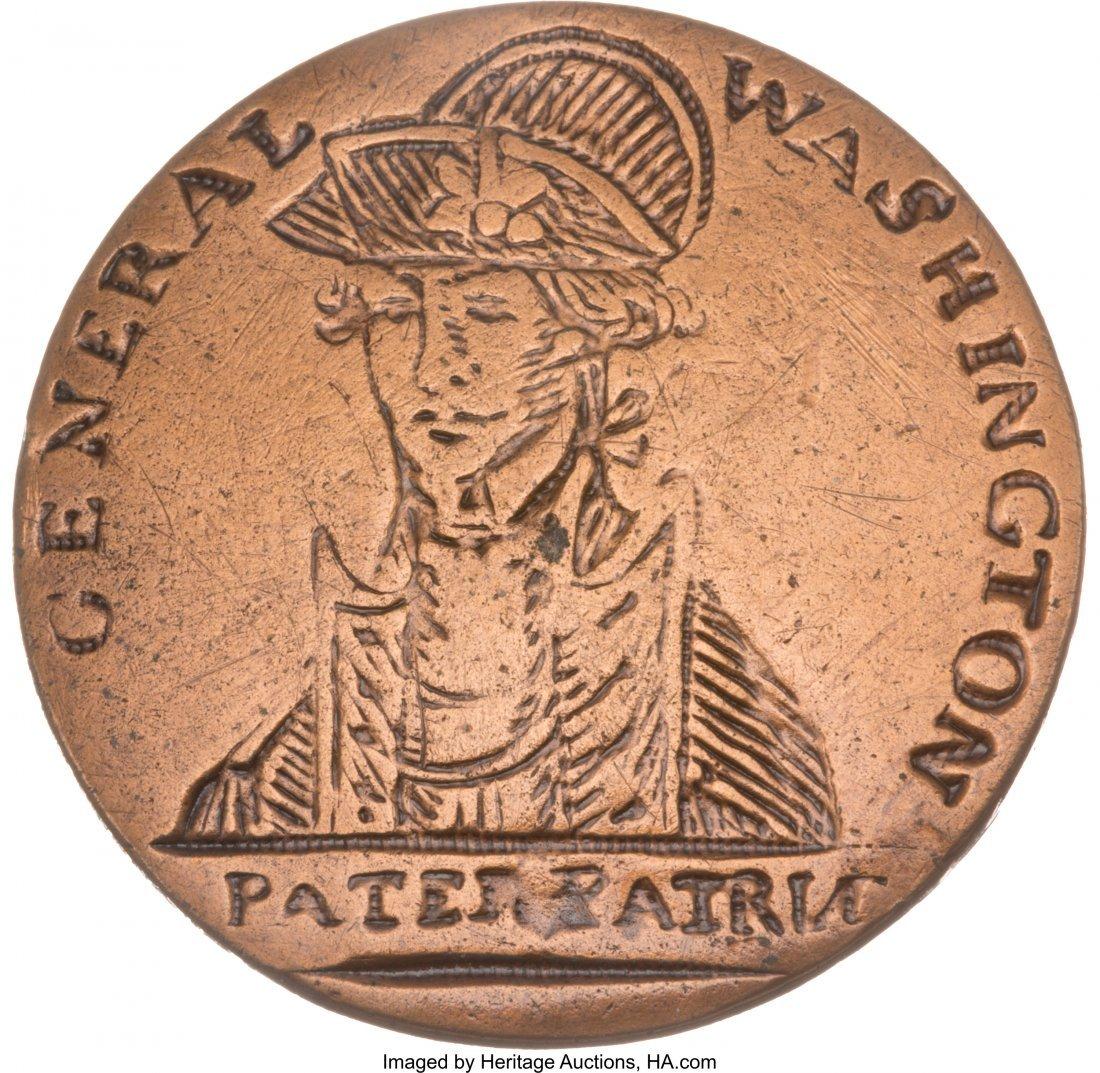 43007: George Washington: Pater Patriæ... the Holy Gra